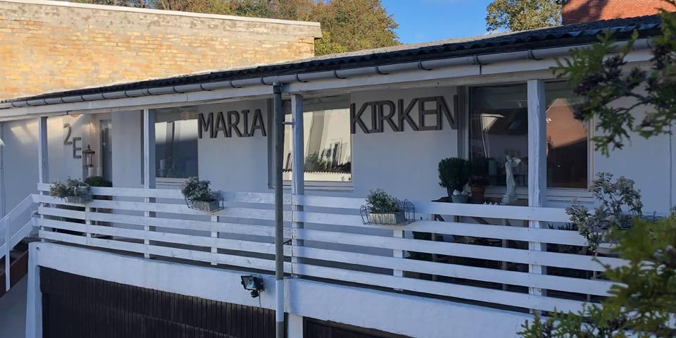 Maria Kirken m. Huset for undervisning v/ Lisbet Linnet